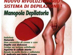 Manopola depilatoria